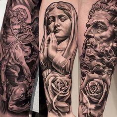 A few amazing works by Mithra artist: Lil B (@lilbtattoo) #mithraneedles #mithra #mithratattoo #tattoo #tattoosupply #tattoosupplies #tattooshop #tattooposter #tattoos #tattooartist #tattooart...