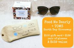TOMS Earth Day Prize Package Giveaway - Giveaway Promote Open to: United States, Canada  Ending on: 04/21/2014