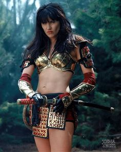 Gabrielle to Xena: It's the blue eyes, the leather, some guys just love leather. - Xena Warrior Princess