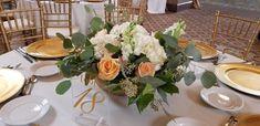 Amanda Bradford, Floral Design, Peach, Table Decorations, Wedding, Home Decor, Valentines Day Weddings, Decoration Home, Room Decor