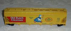 Train set Tyco Old Dutch Cleanser Vintage HO Scale Train Collectible  #TYCO Train Sets For Sale, Ho Scale Trains, Cleanser, Toy Chest, Storage Chest, Dutch, Collection, Vintage, Dutch Language