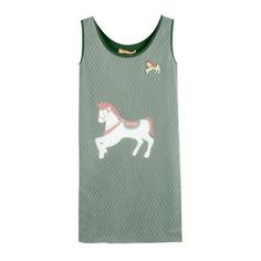 Green Round Neck Sleeveless Street Polka Dot Print Dress found on Polyvore