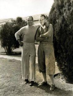Douglas Fairbanks and Douglas Fairbanks, Jr.