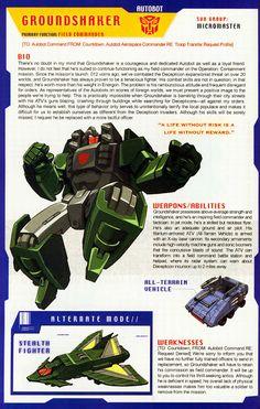 Transformer of the Day: Groundshaker