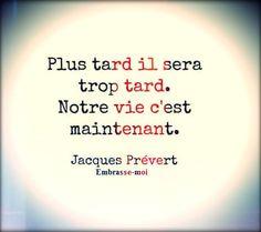 """Jacques Prévert """"Embrasse-moi"""""""