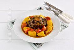 Tocanita din coada de vitel la Crock Pot Romanian Recipes, Romanian Food, Kitchens