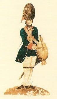 Reales Guardias de Infantería Española 1785