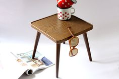 Plant stand / square coffee small table / flower by wohnraumformer, €60.00