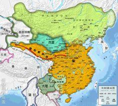 北宋時期全圖(一)