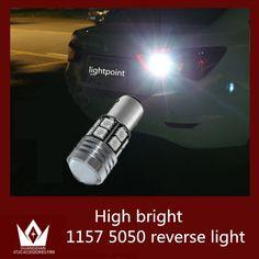 $14.25 (Buy here: https://alitems.com/g/1e8d114494ebda23ff8b16525dc3e8/?i=5&ulp=https%3A%2F%2Fwww.aliexpress.com%2Fitem%2FNew-Arrival-2x-Red-1157-LED-P21-5W-12v-BAY15D-11W-CREE-Q5-12pcs-5050-Car%2F32230244195.html ) Guang Dian Car led light Tail lamp Brake light Stop Light Backup lamp Reverse lamp 1157 P21/5W BA15D 11W BAY15D 12smd 5050 chip for just $14.25