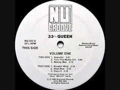 33 1/3 Queen - Melody Man - Nu Groove Records - 1990