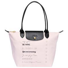LONGCHAMP LE PLIAGE SAINT-VALENTIN SMALL TOTE BAG BEIGE - LONGCHAMP #longchamp #bags #fashion #tote #totebag #women #gifts