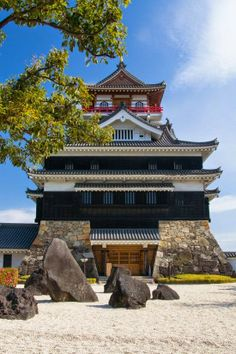 Kiyosu Castle Peering Down at You, Aichi, Japan