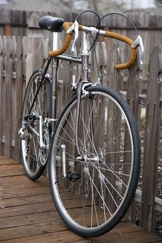 Brown & mustard Miyata 10 speed
