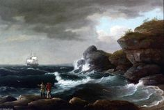Thomas Birch - Coastal Scene