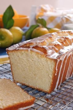 Lemon Bread (Pan de limón) | Cocina