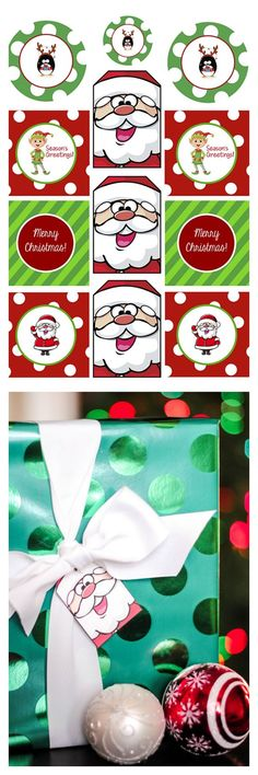 Free Printable Christmas Gift Tags-These are SO cute!