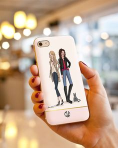 Custom Illustrated iPhone Case by LauraCLeBlanc on Etsy // this image is a sample illustration. contact me for more info!