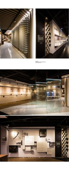 DesignStudio Y | 디자인스튜디오Y » Kyungpook National University Middle & High School Memorial Hall Museum Exhibition Design, Exhibition Room, Exhibition Display, Design Museum, Museum Plan, Space Museum, Hallway Designs, Museum Displays, Hall Design