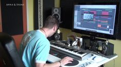 """Making of """"HEAVEN""""  Song from our 2nd album AFFIRMATIVE DISMAY 10,- USD  BUY on : Website - http://www.appleandstone.com"""
