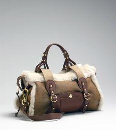 Ugg Shearling Bag.....heck yes I'll take that bag!!
