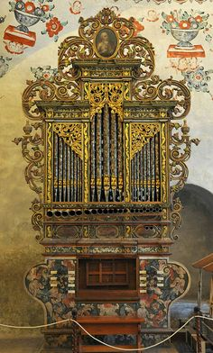 Organo Tlacochahuaya Organ by Ilhuicamina, via Flickr