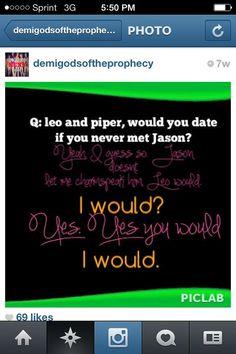 I hate Jason (He's too perfect), but I do NOT ship Liper/Peo.  *shudders*