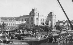Praça Araribóia (quando ainda se chamava Praça Martim Afonso), Niterói-RJ