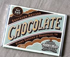 Olive & Sinclair Chocolate - TheDieline.com: Package Design