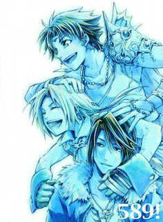 Final Fantasy V, Final Fantasy VIII, Final Fantasy IX