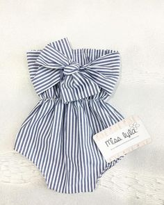 baby striped romper girl summer romper baby girl romper big bow cake smash outfit girl baby sh - The world's most private search engine Handgemachtes Baby, Baby Girl Bows, Baby Girl Romper, Baby Girl Items, Fun Baby, Baby Girl Gifts, Fashion Kids, Baby Girl Fashion, Women's Fashion