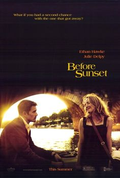 I loved this movie, and Before Sunrise. Now looking forward to Before Midnight.