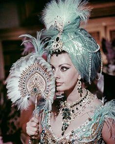 Arabesque de Stanley Donen- Sophia Loren