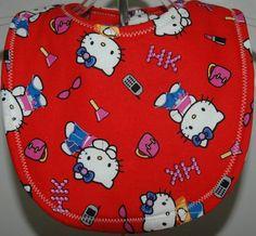 Hello Kitty Bib by mickiesmuse on Etsy, $6.00