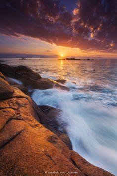 Sunrise at Port Elliot in South Australia