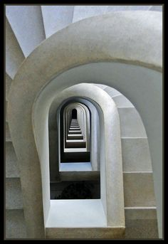 """ollebosse: """" A Matter of Perspective: Architecture Photographed from Different Angles by Carol Francis """" Detail Architecture, Amazing Architecture, Interior Architecture, Interior And Exterior, Interior Design, Beautiful Stairs, Beautiful Buildings, Take The Stairs, Stair Steps"""