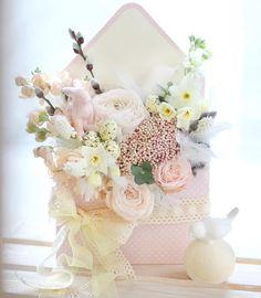 Flower Box Gift, Flower Boxes, Flower Frame, Flower Cards, Deco Floral, Arte Floral, Floral Design, Nail Design, Sola Flowers