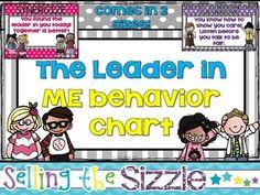 The Leader in Me 7 Habits Behavior Chart
