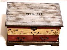 Joyero de Espejo de Boda Regalo Joyero Tocador por Personalizedbox