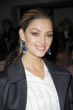 Demi-Leigh Nel-Peters Photos - Demi-Leigh Nel-Peters attends the Vivienne Tam front row during New York Fashion Week at Spring Studios on February 15, 2018 in New York City. - Vivienne Tam FW18 - Front Row