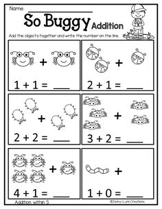 Sprinkle some fun into your lessons with these April themed worksheets. Includes Easter and other spring themed worksheets. This packet is a no-prep packet- just print and go! Every worksheet (except the writing prompts) comes in two forms- 2 per page and full page to choose from. This helps to save ink and paper! Check out the preview pdf file to see the different worksheets included in this packet. Kindergarten Math Worksheets, Preschool Literacy, Free Preschool, Preschool Activities, Grande Section, Math Addition, Math For Kids, Math Lessons, Kids Learning