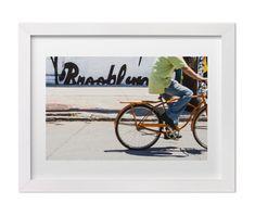 Brooklyn Street Photograph, New York Fine Art Print, Street Art in Brooklyn, Custom Size Wall Decor
