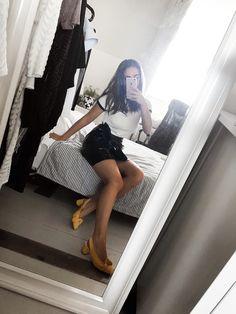 Black & yellow   #ShopStyle #shopthelook #SpringStyle #SummerStyle #MyShopStyle #WeekendLook #OOTD