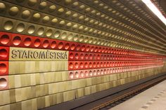 J for Jamie Blog | Prague underground metro station