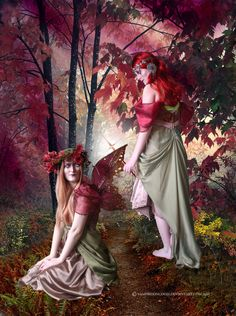 fairy vampire pictures | Witches and Fairies by vampirekingdom on deviantART