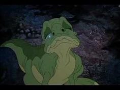 "This song from the movie ""the Land Before Time"" still makes me cry."