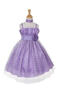 Take a look at this Princess Diaries Lavender Heart Overlay Dress - Toddler & Girls on zulily today!