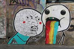 Me Gusta - London Geek Street Art