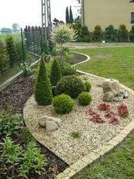 landscaping – Gardening Ideas, Tips & Techniques Landscaping Around Trees, Landscaping With Rocks, Landscaping Plants, Front Yard Landscaping, Rock Garden Plants, Topiary Garden, Gravel Garden, Side Garden, Lawn And Garden