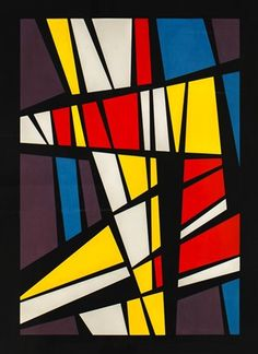 Carton-Vitral, 1960 by José Pedro Costigliolo